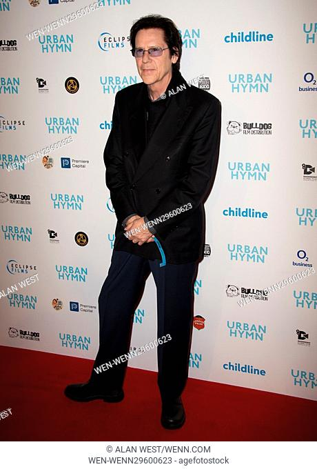 Celebs arrive on the red caroet for the premiere of Urban Hymn Featuring: Shakin Stevens Where: London, United Kingdom When: 27 Sep 2016 Credit: Alan West/WENN