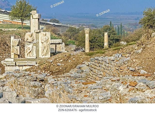 Gate of Heracles Ephesus Turkey
