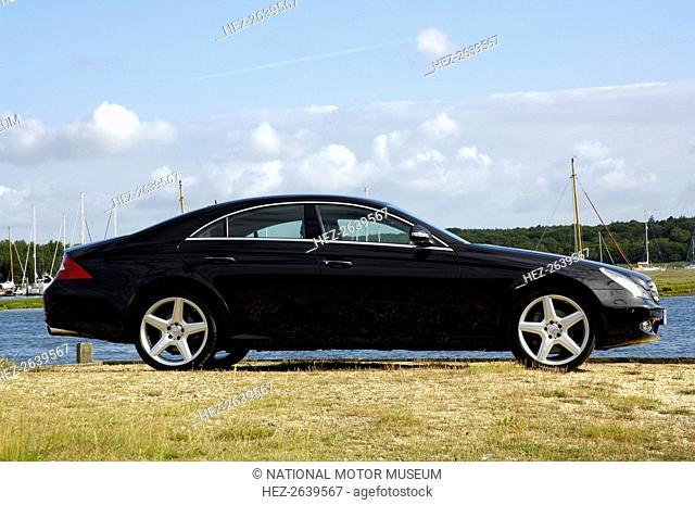 2005 Mercedes Benz CLS500 Artist: Unknown