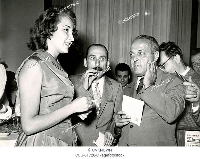 Italian actress Anna Maria Moneta Caglio