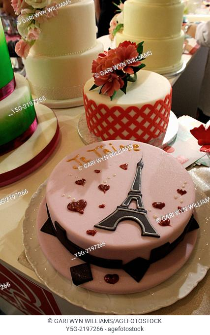 Rome, Italy 1st June 2014 Cake Design Italian Festival 2014 Edition at the Sheraton Hotel in Rome, Italy