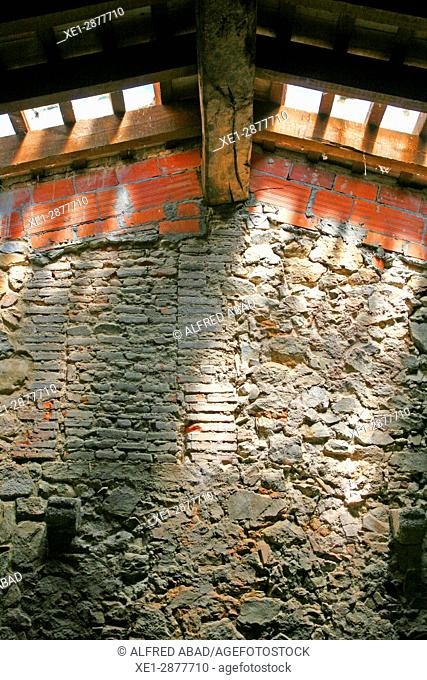 Interior of the house Can Vilallonga, Les Gavarres, Girona, Catalonia, Spain