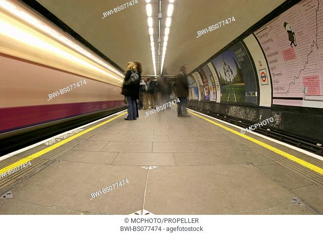 Underground in London, United Kingdom, London