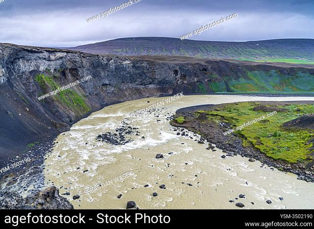 Aldeyjarfoss, Highlands of Iceland, Northeastern Region, Iceland