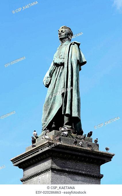 Monument of Adam Mickiewicz,Krakow