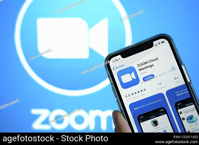 The Zoom virtual meeting program from Google is one of the most important programs for virtual lessons, video conferences and online meetings | usage worldwide...
