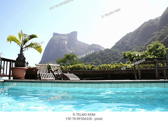 Swimming pool, Leblon, Rio de Janeiro, Brazil