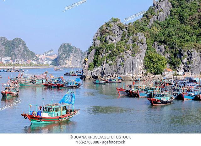 Halong Bay, Vietnam, Indochina, Asia