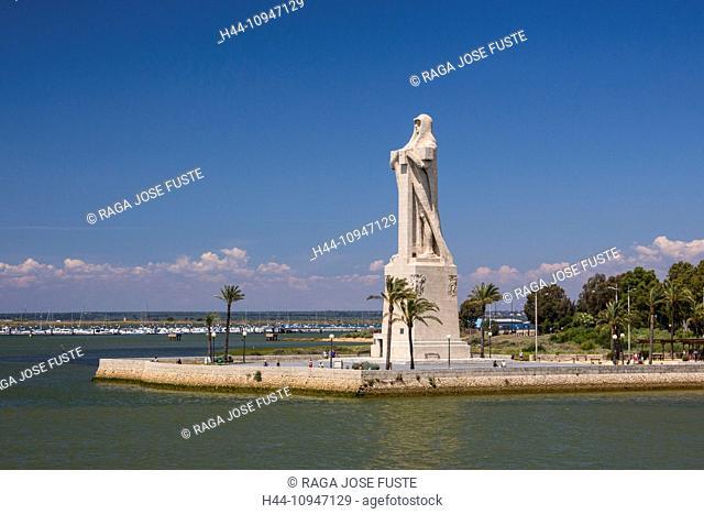 Spain, Europe, Andalucia, Region, Huelva, City, Columbus Monument, Huelva, La Rabida, America, big, Columbus, discovery, history, monastery, monument, palos