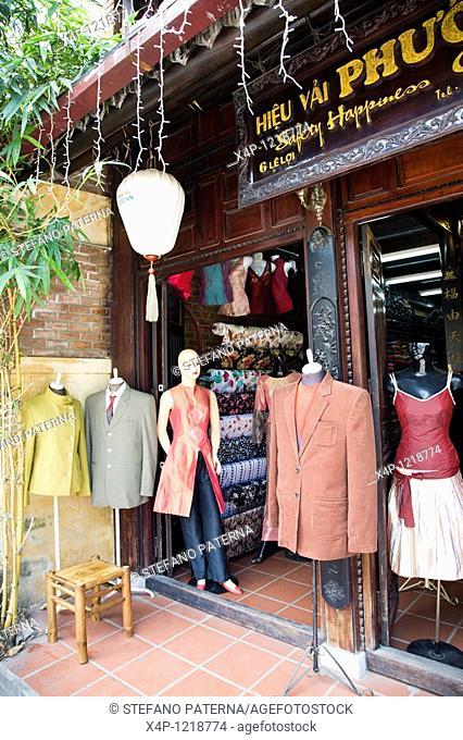 Tailor Shop in Hoi An, Vietnam