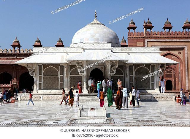 Grave of Shaikh Alauddin Chisti, UNESCO World Cultural Heritage Site, Fatehpur Sikri, Uttar Pradesh, India