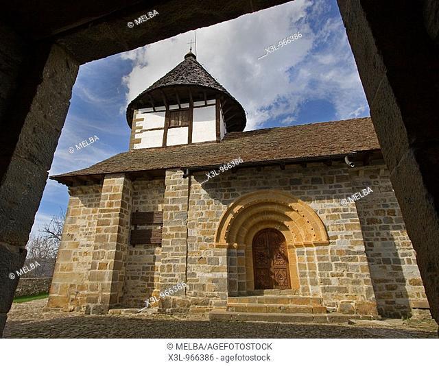 Hermitage of Muskilda  Ochagavia  Roncal valley Navarre  Spain