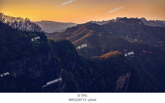 Wangmu Cave; Houshan; Wangwu Mountain;Jiyuan; Henan; China