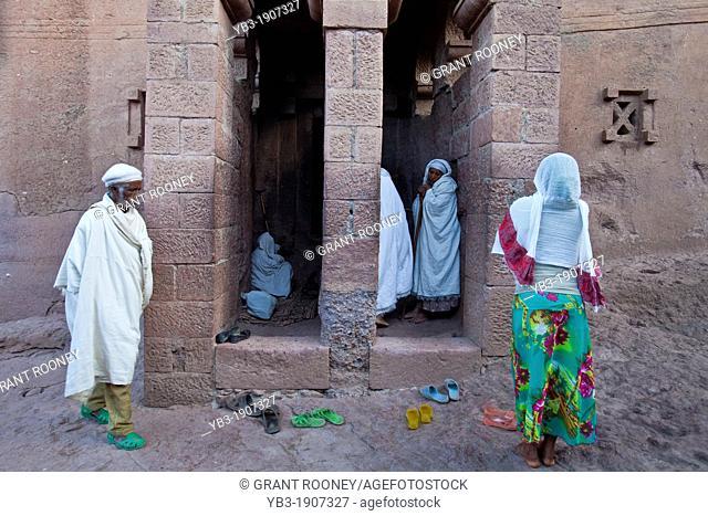 Bet Maryam Church, Lalibela, Ethiopia
