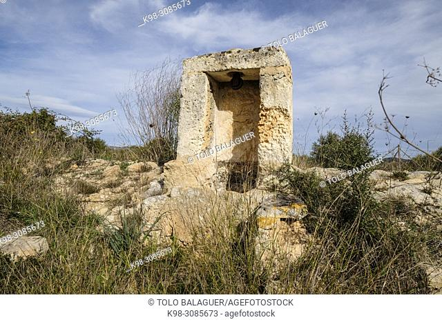 aljibe de Son Mesquida, Llucmajor, Mallorca, balearic islands, Spain