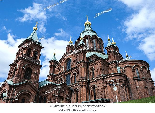 Uspenski Cathedral. Helsinki, Finland, Europe