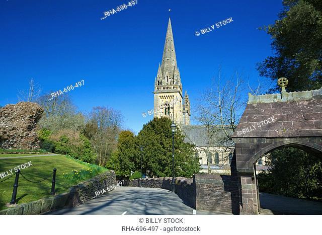 Llandaff Cathedral, Llandaff, Cardiff, Wales, United Kingdom, Europe
