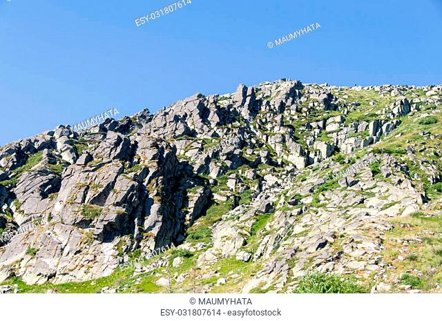 Mountian Vitosha, Bulgaria. Mountain near the capital Sofia, 20 km