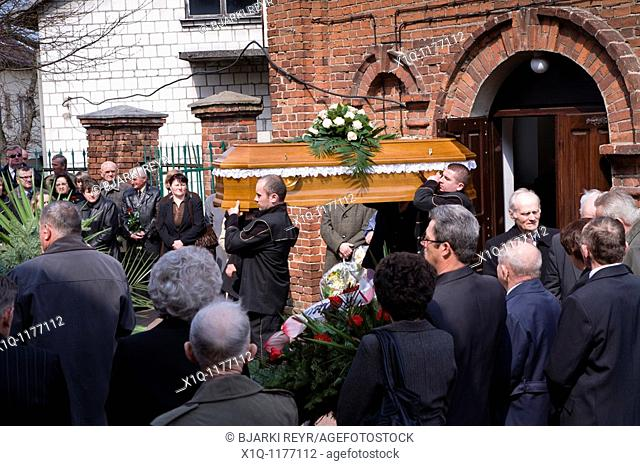 Funeral  Church of the Exaltation of the Holy Cross, Zwolen Poland