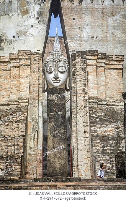 Wat Si Chum, in Sukhothai historical park, Sukhothai, Thailand
