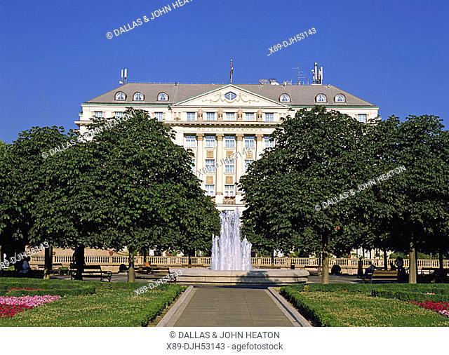 Croatia, Zagreb, Tomislav Square, Regent Esplanade Zagreb Hotel