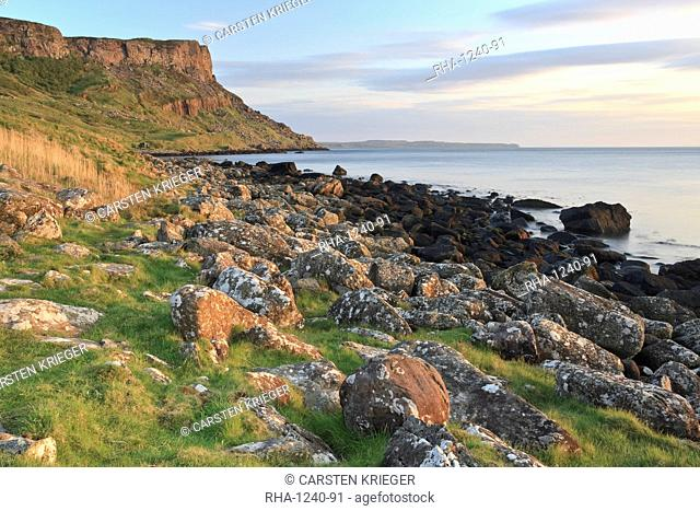Fair Head, Murlough Bay, County Antrim, Ulster, Northern Ireland, United Kingdom, Europe