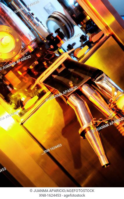 Technology Laboratory photographed with spectacular lights