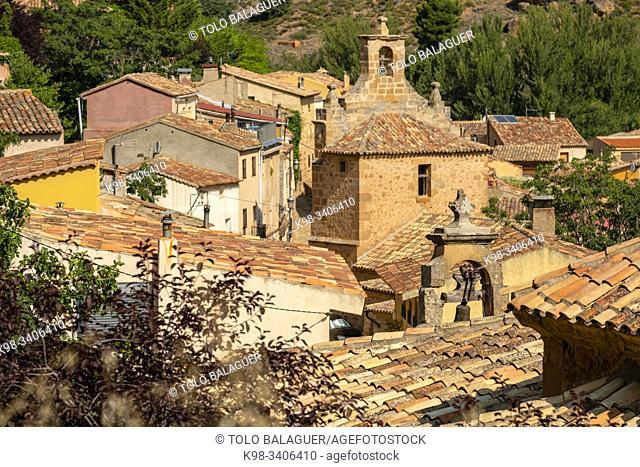 iglesia de Nuestra Señora de la Visitación, 1757, Somaén, valle del rio Jalon, Soria, comunidad autónoma de Castilla y León, Spain, Europe