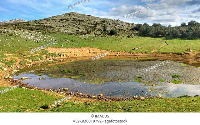 Puertos de Marabio Natural Monument, Yernes y Tameza municipality, Asturias, Spain