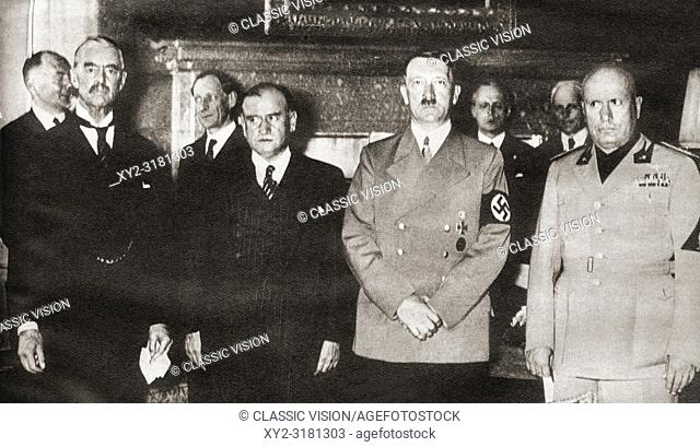 Munich Agreement Stock Photos And Images Age Fotostock