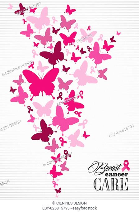 Breast cancer awareness campaign composition