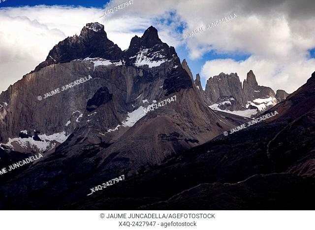 The horns. Cuernos del Paine. Patagonia. Chile