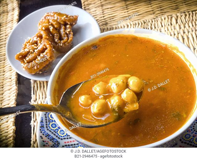 "Morocco, Food, """"Harira"""" soup, a special for the Ramadan months"
