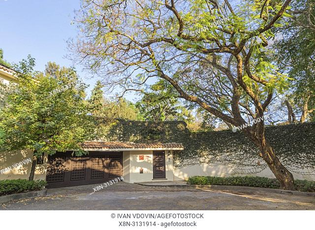Villa entrance, Mexico