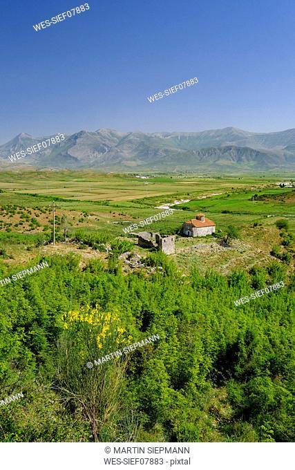 Albania, Vlore County, near Lukova, St. George's Convent
