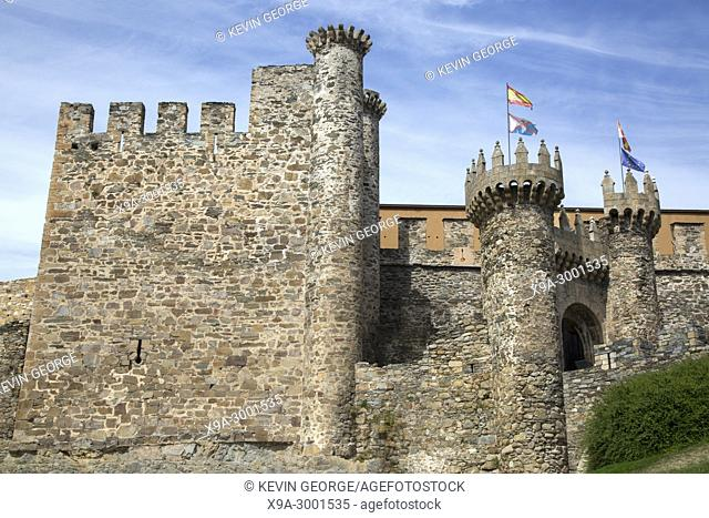 Knights Templar Castle; Ponferrada; Spain