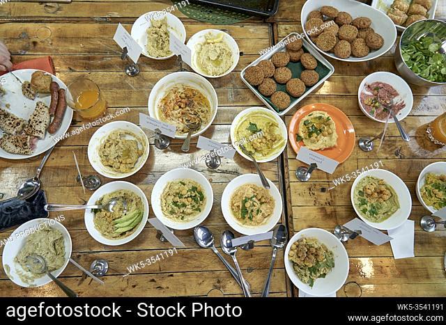 Middle eastern food cooking workshop