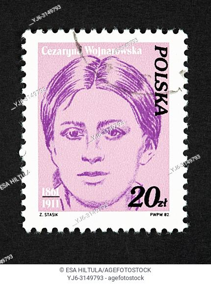 Polish postage stamp