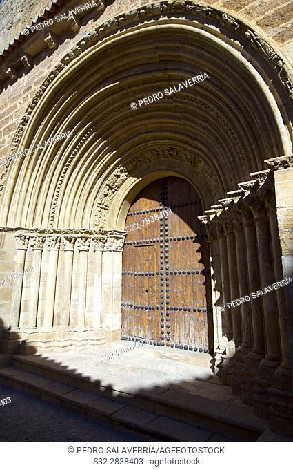 San Salvador Church in Cifuentes, Guadalajara, Castilla La Mancha, Spain