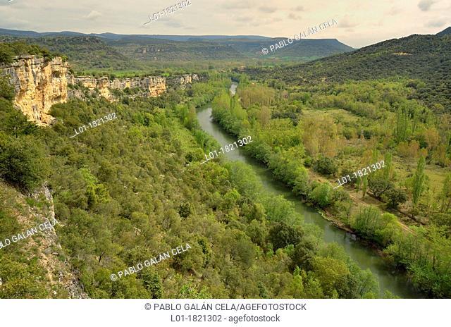 Desfiladero de los Tornos, Ebro river Burgos