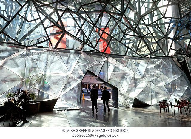 The Atrium, Federation Square, Melbourne, Victoria, Australia