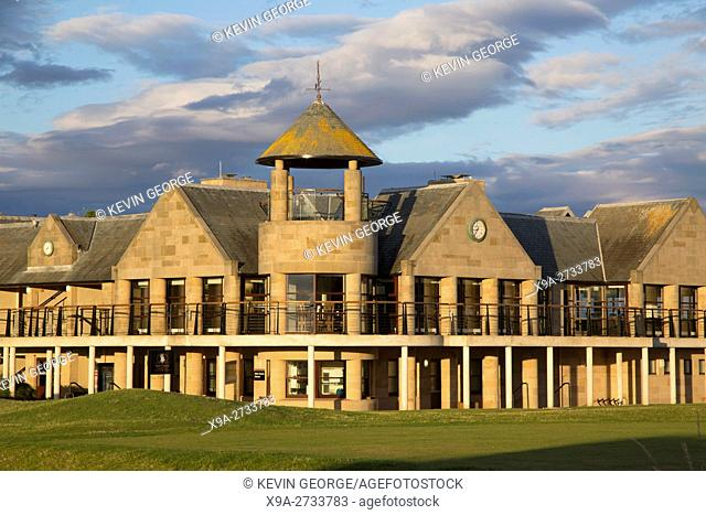 St Andrews Links Clubhouse and Swilcan Restaurant; Fife, Scotland; UK