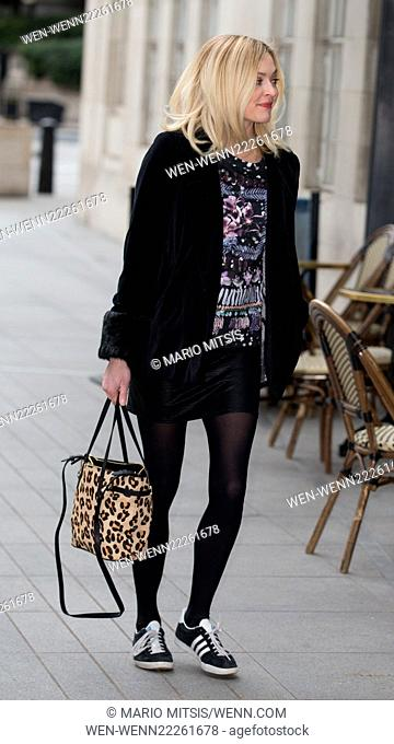 Fearne Cotton arriving at BBC in Portland Place to host Live Lounge on Radio 1 Featuring: Fearne Cotton Where: London, United Kingdom When: 03 Mar 2015 Credit:...