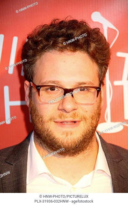 Seth Rogen 04/25/2013 Second Annual Hilarity For Charity Benefiting The Alzheimer's Association held at Avalon Hollywood in Hollywood