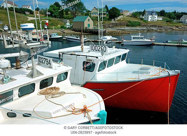 Tancook island, Nova Scotia, Canada