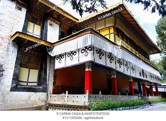 Palace of the Dalai Lamas Norbulingka summer palace Lhasa Tibet China