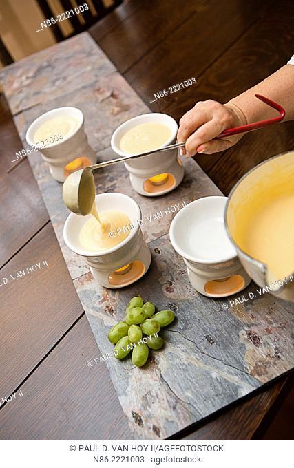 parmesan fondue