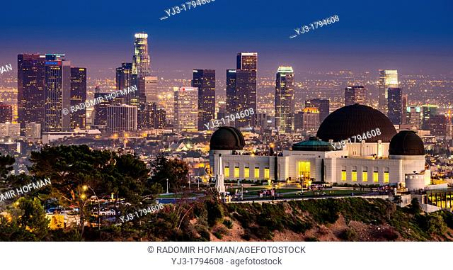 Griffith Observatory, Los Angeles, California, USA
