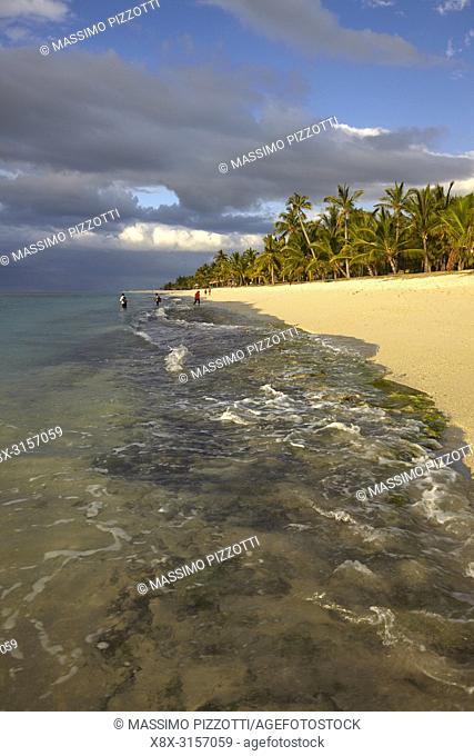 The beach of Le Morne Brabant, Mauritius