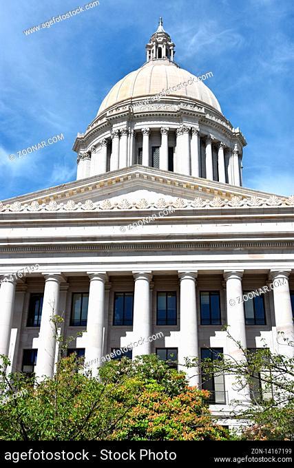 Washington State Capitol in Olympia, Washington